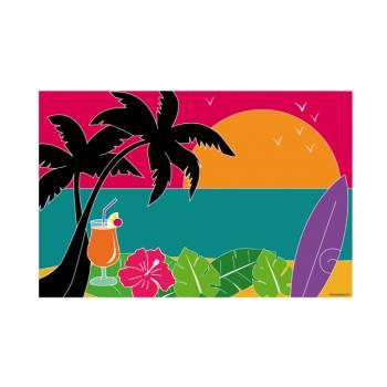 Dekor auf Hawai A3 Zucker