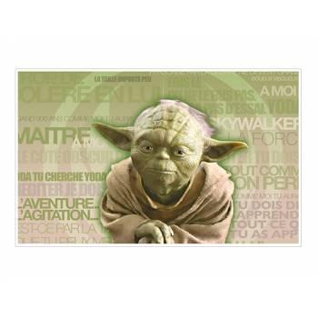 Dekor auf Zucker Meister Yoda A3