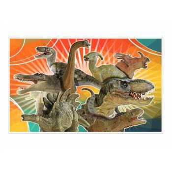 Dekor auf Sucre Dinosaurier A3
