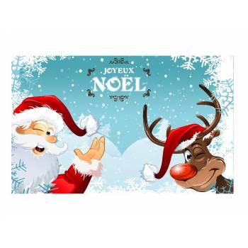 Dekor auf Weihnachtsweihnachtszucker und Rentier A3