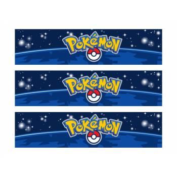 3 Bänder mit Süßigkeiten Pokemon Go