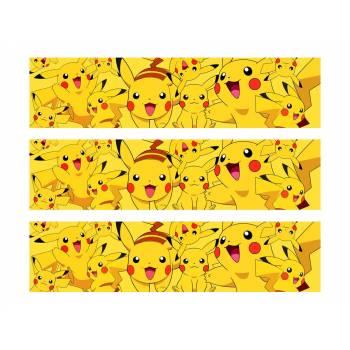 3 Bänder Mit Pikachu-Zucker
