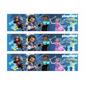 3 Bänder mit Playmobil-Zuckerkuchen