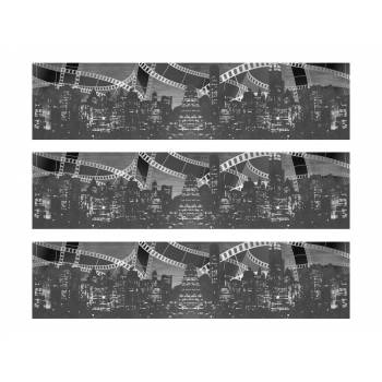 3 Kuchenstreifen Zucker Dekoration Kino 1930