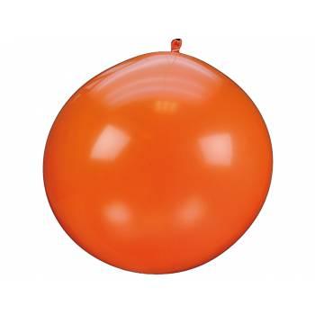 Riesiger Ballon 90 cm orange