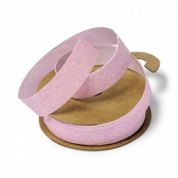 Klebeband rosa Glitzer