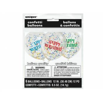 6 luftballon konfetti HB
