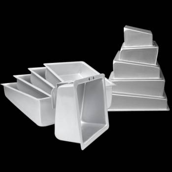 Muschel Topsy Turvy quadrat