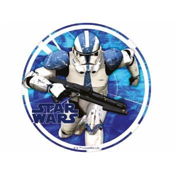 Tortenaufleger dekor Star Wars Stormtrooper blau