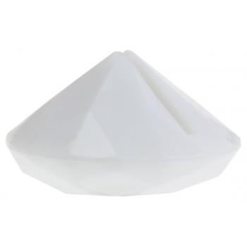 4 Weiße Diamant-Marke