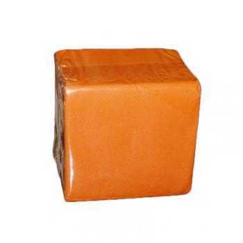 100 Mini Servietten orange