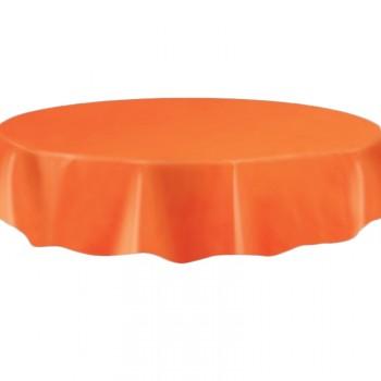 Tischtuch rund orange