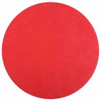 50 rot eingewebte Tisch sets