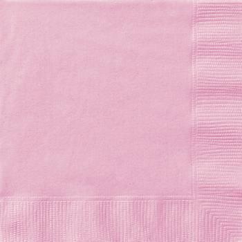 20 Servietten rosa