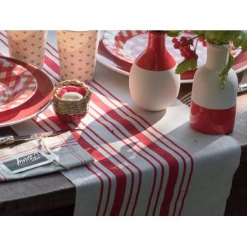 Tischpfad Roter Tuch