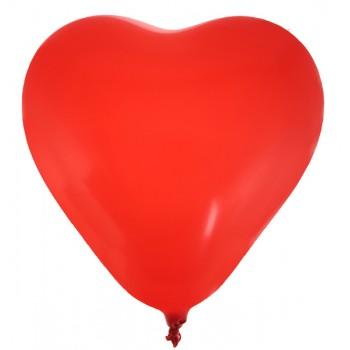 8 Rote Herzbälle