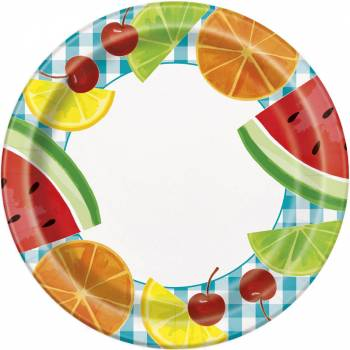 8 Fruit-Party Teller