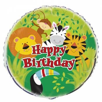 Helium-Ballon Tier Dschungel