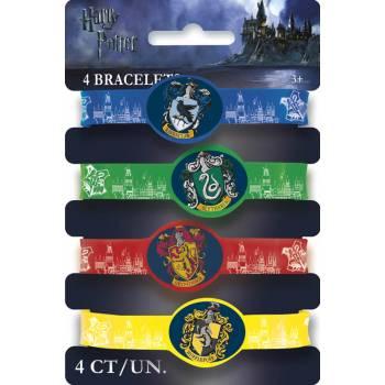 4 Harry Potter Schule Armbänder