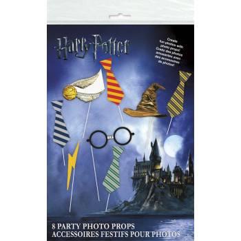 8 fotobooth Harry Potter Zubehör