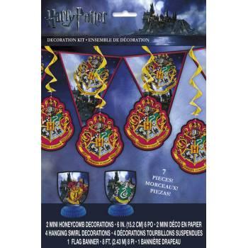 Kit 7 Dekor Harry Potter Ambiente