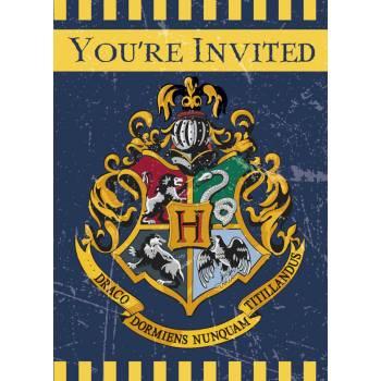 8 Harry Potter Einladungskarten