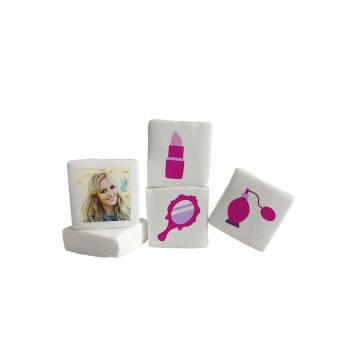 48 Guimize Quadrate personnalisiert Bild-Dekoration Girly