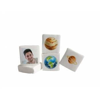 48 Guimize Quadrate personnalisiert Bild Dekoration Planet