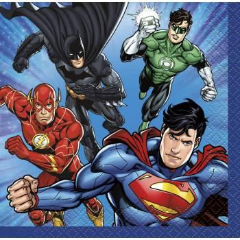 16 Servietten Dessert Justice League