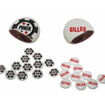 Schock-Palets' individuelle Dekoration Jeton Poker