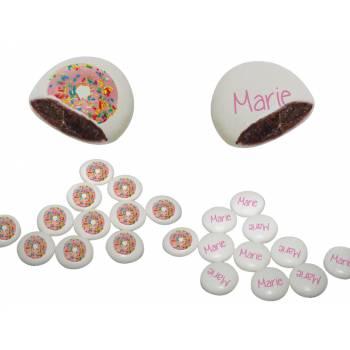 Palets Schock' individuelle Dekoration Donuts