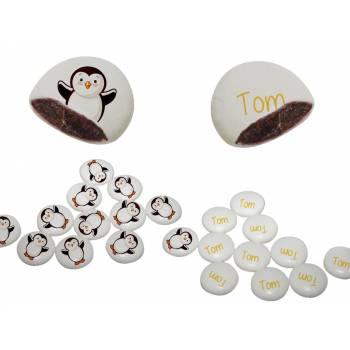 Stoß-Palets' personalisiert Pinguin-Dekor