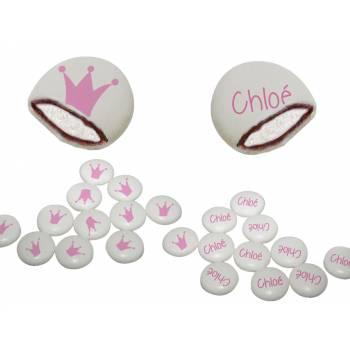 Chamachoc personalisierte dekor Dekor Krone rosa Text