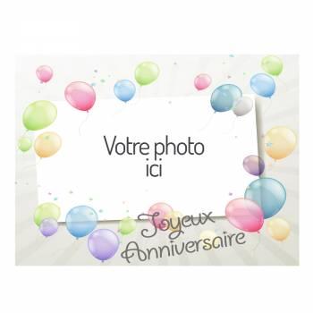 Dekor auf Zucker Ballons A4 zu personalisieren
