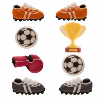 Mini-Fußball-Zuckerdekor