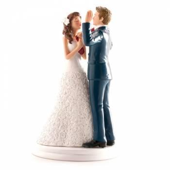 Ehepaar mit Ringen 20cm