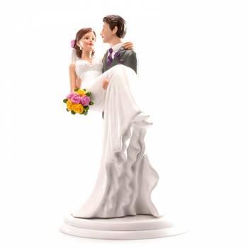 Ehepaar getragen figuren für Hochzeitstorte 20cm
