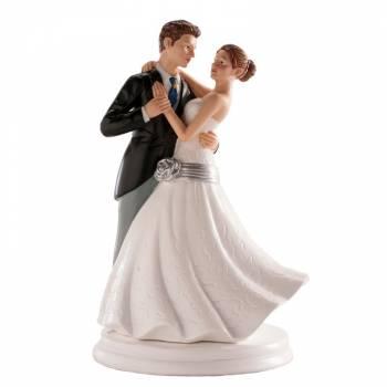 Brautpaar tanzen figuren für Hochzeitstorte 20cm