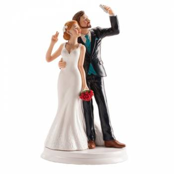 Verheiratete Figur Selfie 20cm