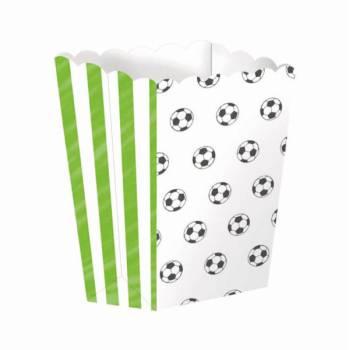 4 Pop Corn Fußball Boxen