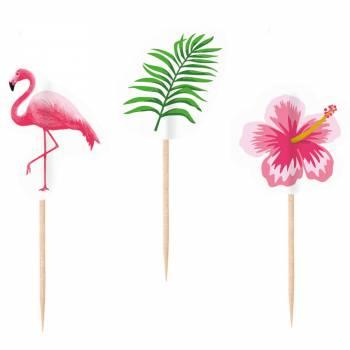 20 Pics Aperitif Flamingo paradise