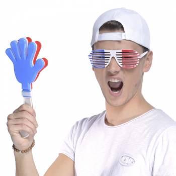 Clap Clap dreifarbig Französisch