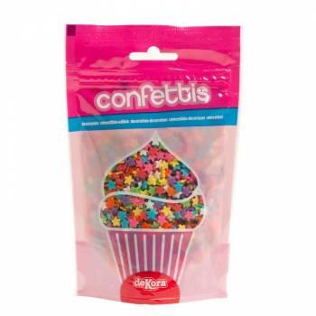 Konfetti-Zucker-Bunte 100gr