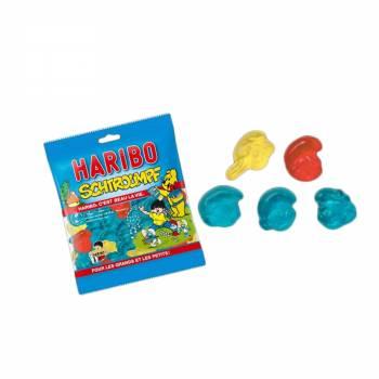 Mini Beutel Süßigkeiten Haribo Schlumpf