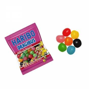 Mini Beutel Süßigkeiten Haribo Dragibus