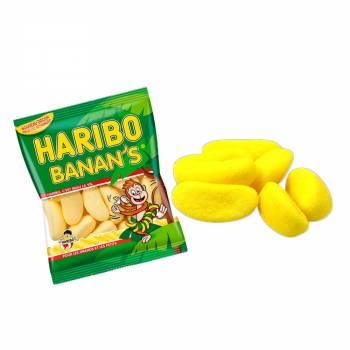 Mini Beutel Süßigkeiten Haribo Banane