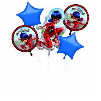 Strauß Helium Luftballon Miraculous