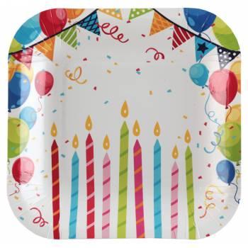 10 Dessert-Teller Geburtstagsdezernente