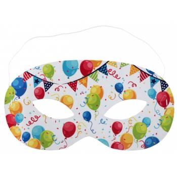 10 Geburtstagsmasken Arlequin