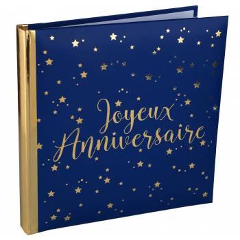 Goldenes Buch Happy Birthday night